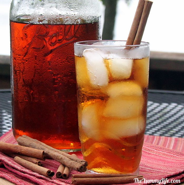 Cinnamon and Spice Refrigerator Iced Tea