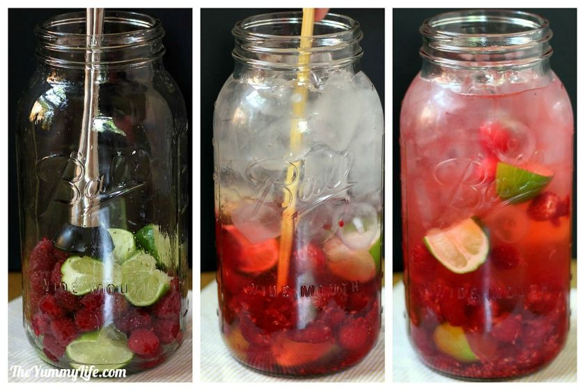 Naturally Flavored Water -- An easy formula for making an endless variety of fruit and herb infused waters. Say goodbye to soda, juice, and bottled water! www.theyummylife.com/Flavored_Water #vegan #glutenfree #paleo #flavoredwater #recipes #drinkideas #fruit #herbs #spawater