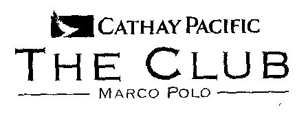 CATHAY PACIFIC THE CLUB MARCO POLO Trademark Detail