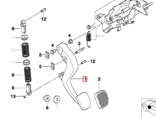 BMW OEM 23007503993 Used AUTO TO MANUAL SWAP KIT GETRAG