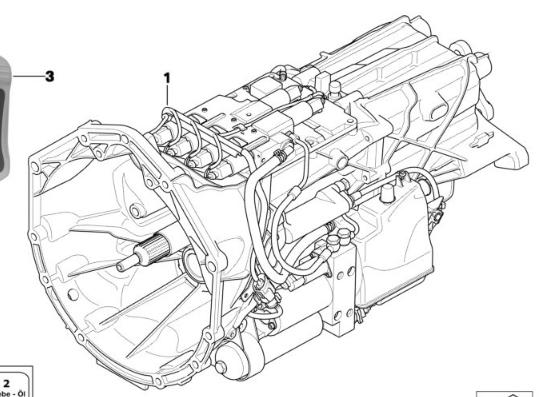 BMW OEM Manual Transmission USED 23012283399 GS7S47BG