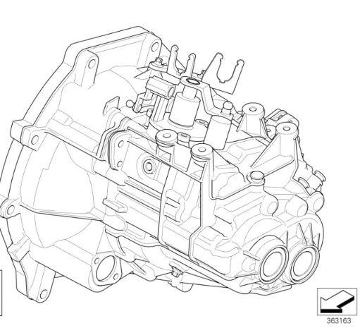 D MINI R50 Cooper AUTO TO MANUAL SWAP KIT 5 speed gearbox