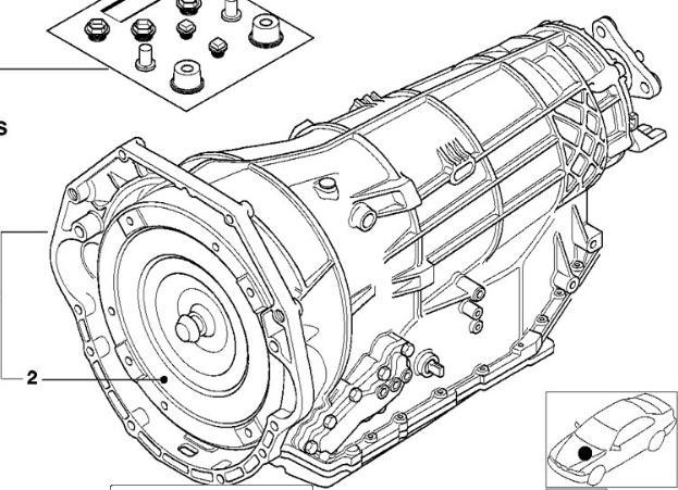 BMW OEM ZF 5HP30 10 USED Auto Transmission 24001423479 E38