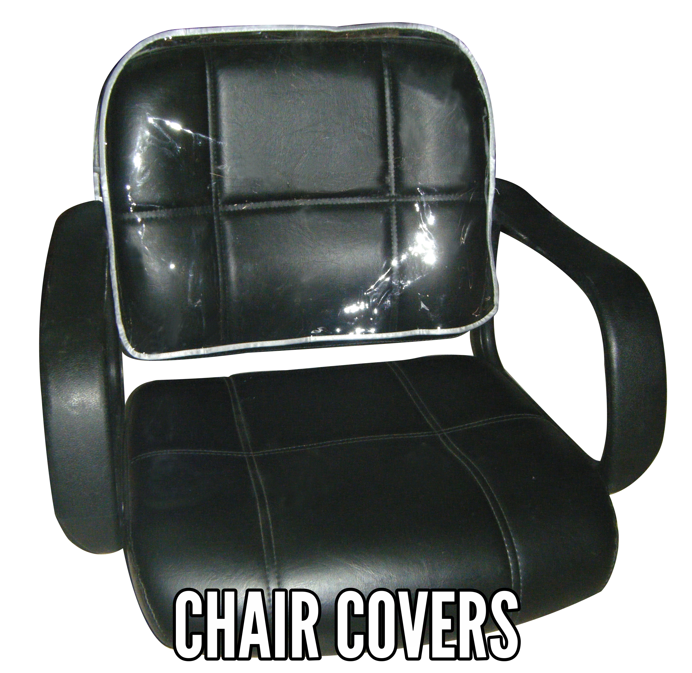 Clear Styling Chair CoverProtectors for Hair Salon and