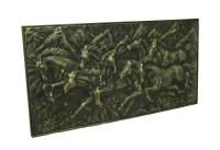 Wild Running Horses Decorative Metal Wall Art Hanging | eBay