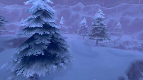 カンムリ雪原