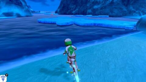 凍てつきの海