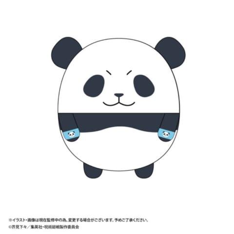 呪術廻戦 ふわコロりんMsize2 パンダ
