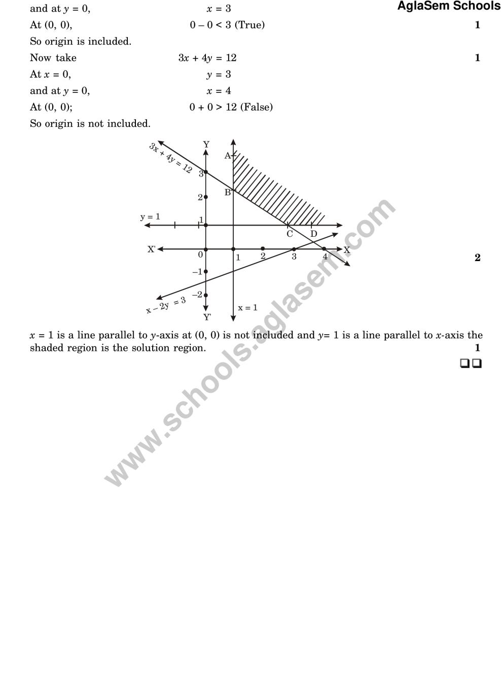 CBSE Sample Paper For Class 11 Maths (Solved)