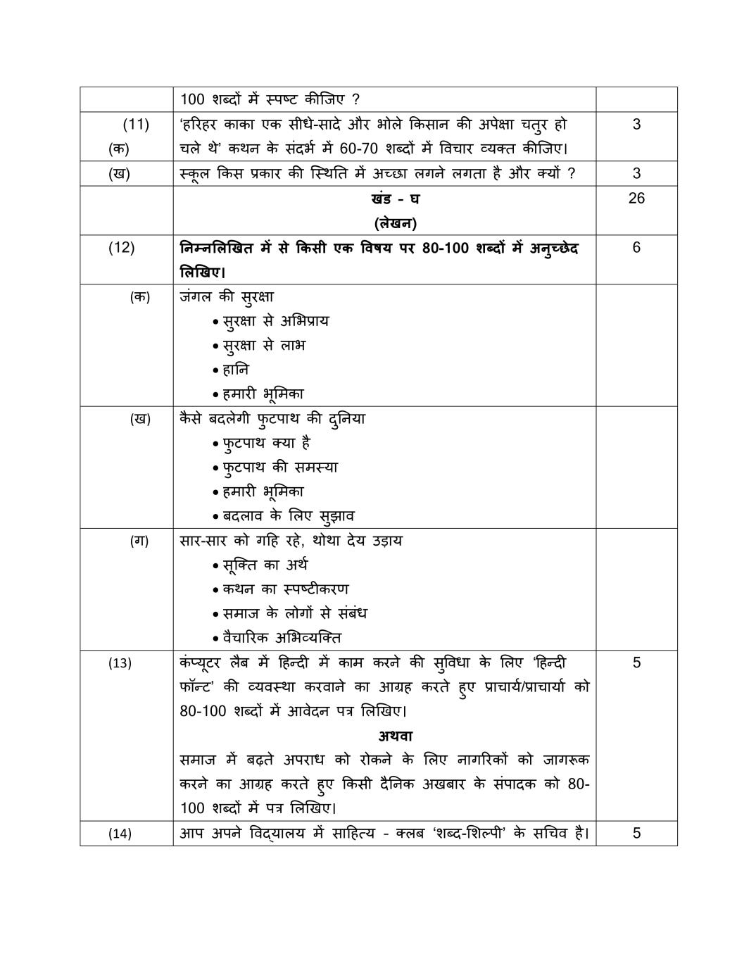 English Grammar Worksheets For Class 10 Cbse With Answers ...