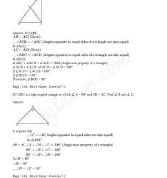 NCERT Solutions for Class 9 Maths Chapter 7 Triangles   AglaSem Schools [ 1355 x 958 Pixel ]
