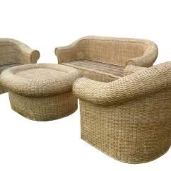 Cane Sofa Set Pictures Black Square Legs