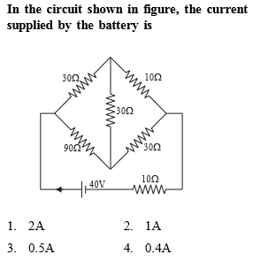 NEET Physics Current Electricity Questions Solved