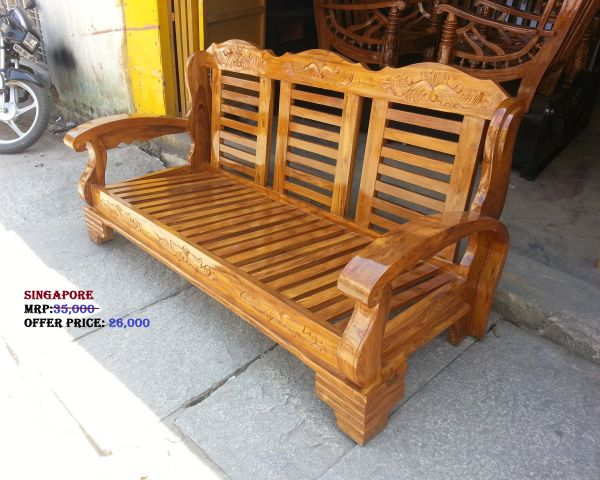 Cost Of Teak Wood Sofa In Bangalore