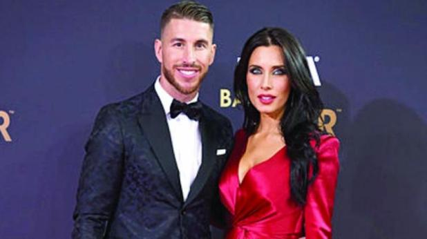 Image result for Sergio Ramos and Pilar Rubio