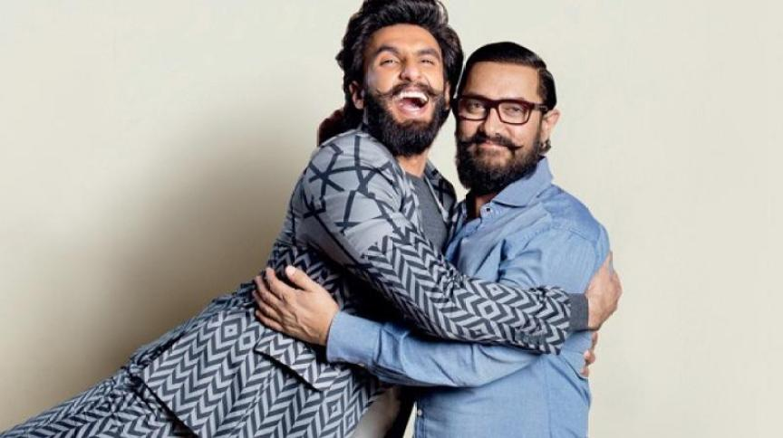 Image result for Ranveer is currently shooting for Zoya Akhtar's 'Gully Boy' which also stars Alia Bhatt and Aamir has been shooting for 'Thugs Of Hindostan', also starring Amitabh Bachchan, Fatima Sana Shaikh and Katrina Kaif in pivotal roles.