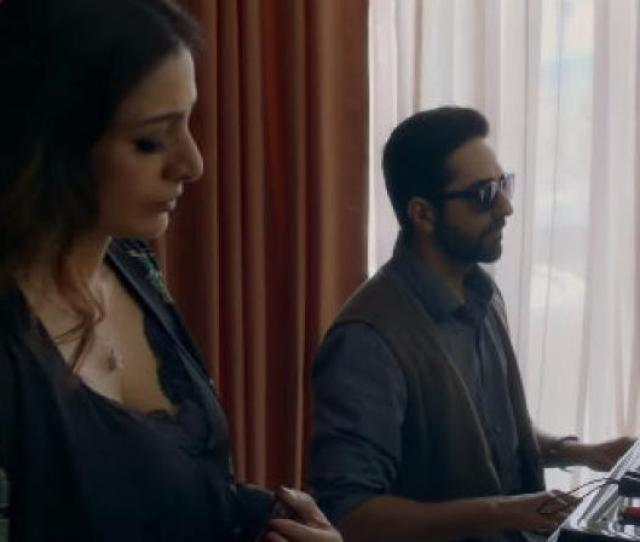 Ayushmann Khurrana And Tabu In Andhadhun Youtube Screengrab Courtesy Viacom18 Motion Pictures