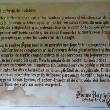 El embrujo del cafetero, Museo del Café