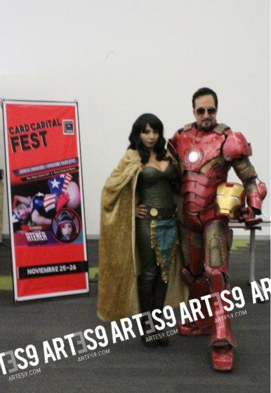 Card Capital Fest Alex Roussea Atenea Cosplay