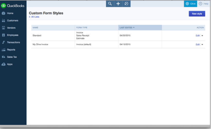 Accounting Sales Form Customization: Brand Sales Forms in QuickBooks ...