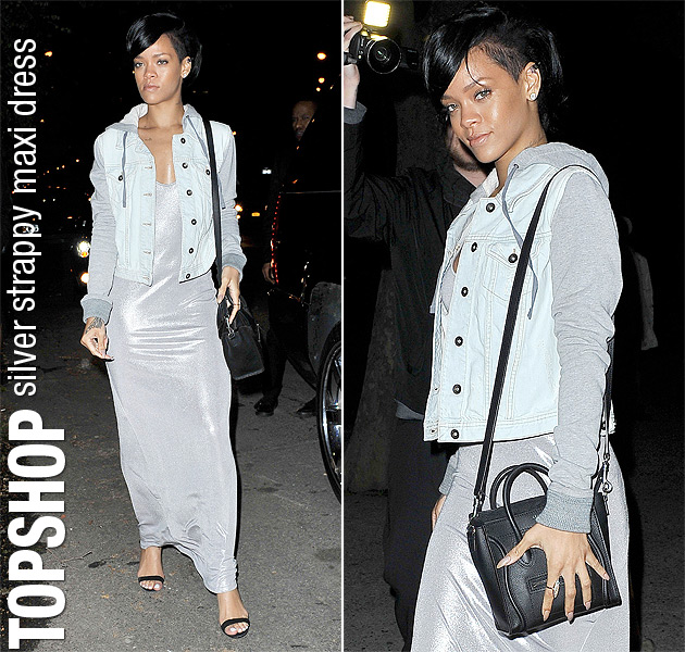 rihanna-silver-topshop-dress