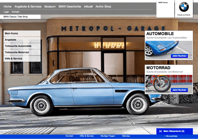 Bmw Classic Launches Online Parts Catalog  Bimmerfile