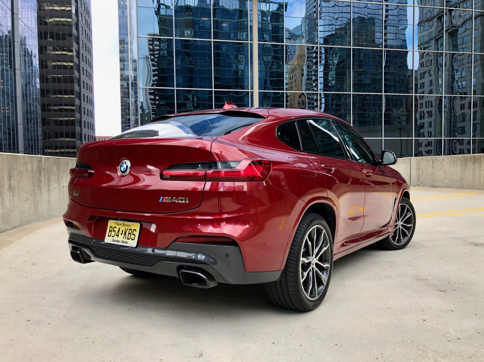 Review Bmw X4 M40i