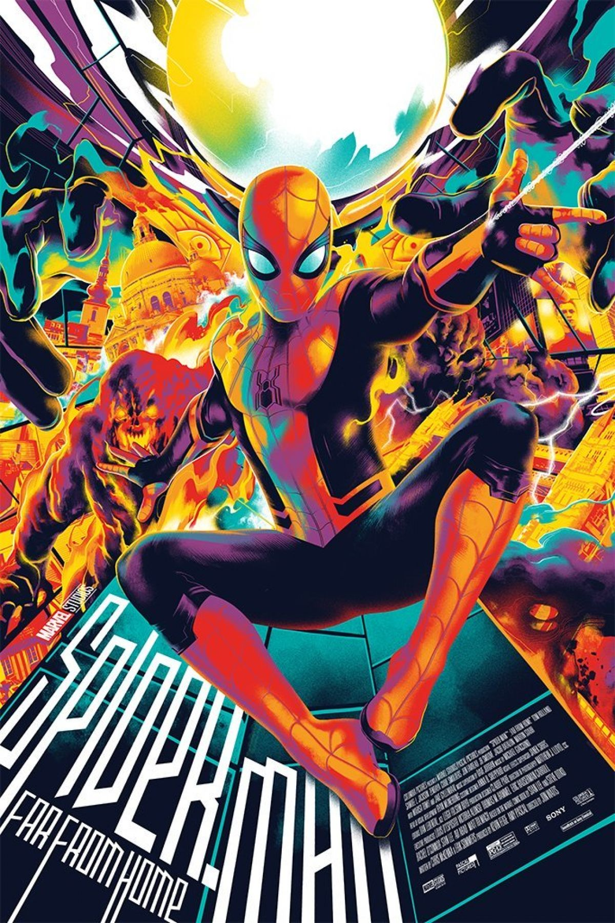 Heads Up: Mondo's SPIDER-MAN: FAR FROM HOME Poster Lands Tomorrow   Birth.Movies.Death.