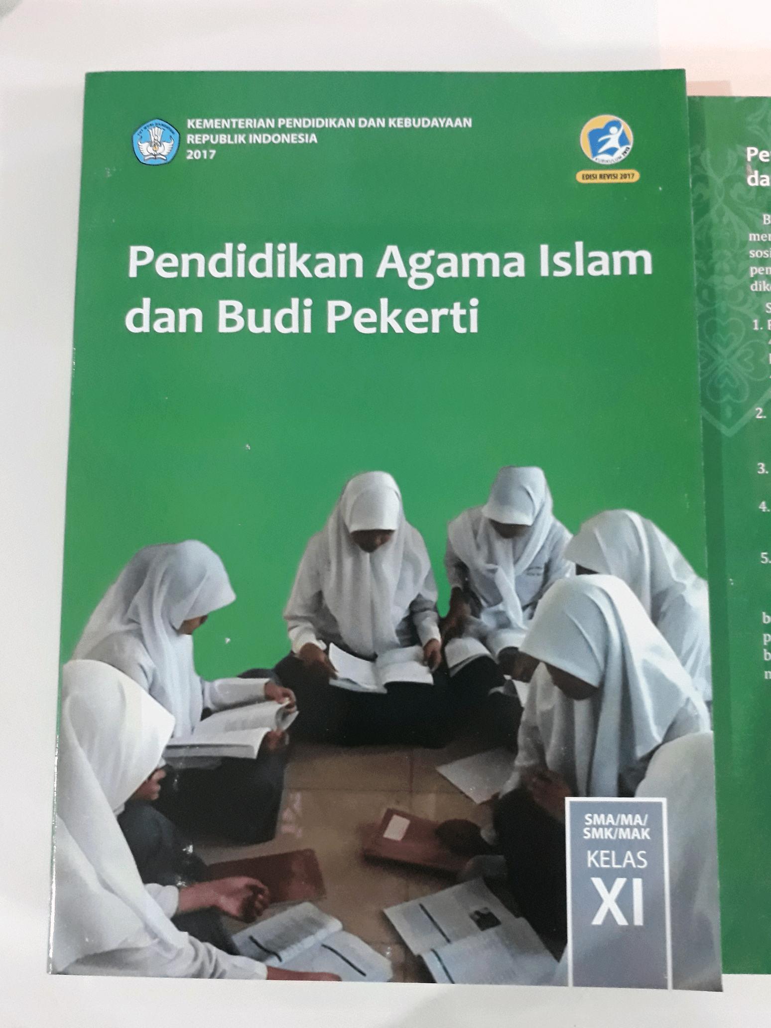 Buku Paket Agama Kelas 11 : paket, agama, kelas, Pendidikan, Agama, Islam, Pekerti, Kelas, Edisi, Revisi