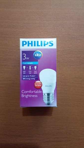Lampu Philips Led 3 watt 6500K