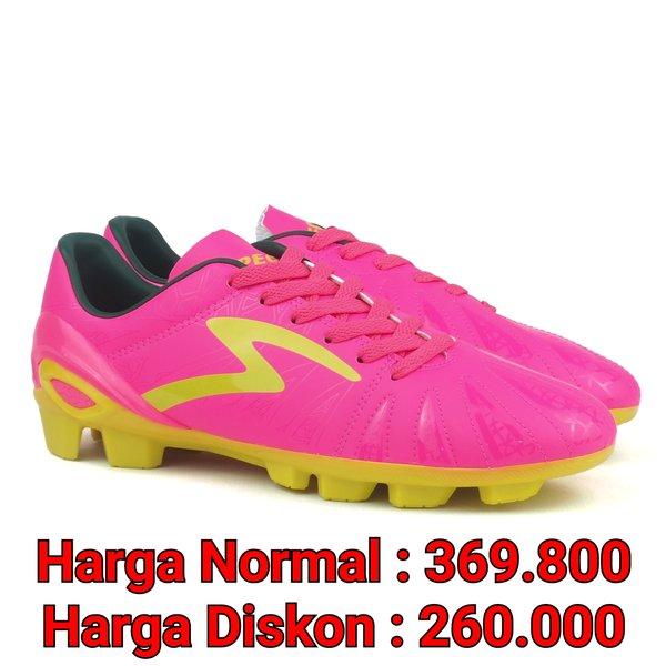 Sepatu Bola Specs Tomahawk FG Pink Original 100716
