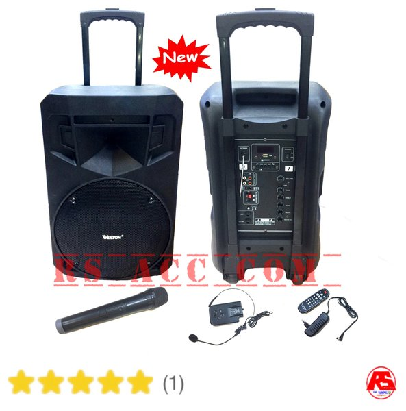 Harga Murah !!! speaker portable wireless PA amplifier weston 12ins meeting toa
