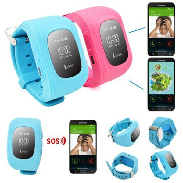 Smartwatch Smart Watch Jam Tangan Pintar Q50 for Kids Anak with GPS Tracker Lacak Posisi Sim Card Canggih Murah Berkualitas