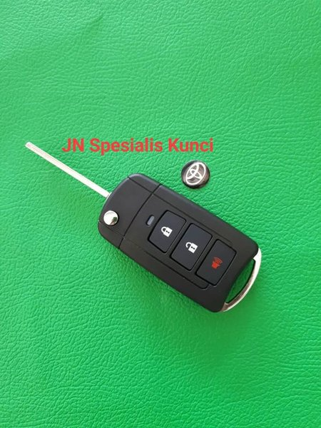 flip key grand new avanza veloz 1.5 harga dijual casing kunci lipat toyota 3tombol promo berkualitas