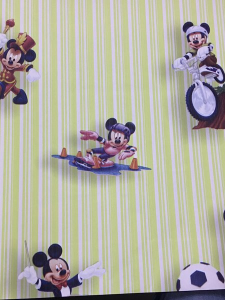 Wallpaper Dinding Anak Mickey Mouse