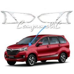 Aksesoris Grand New Avanza 2015 Corolla Altis Youtube Jual Beli Emblem Logo Depan Toyota Avanzaveloz Baru Garnish Cover Lampu