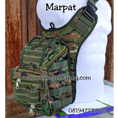 Tas Army Slempang Tactical dan Sporty