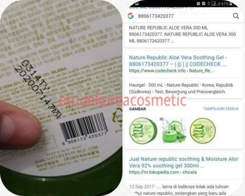 Jual Jual Perawatan Nature Republic Aloe Vera Gel 300ml Soothing Gel