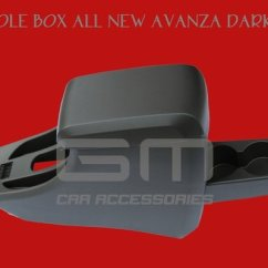 Console Box Grand New Avanza 2018 Harga Berkualitass All Dark Grey Tutup