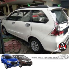 Roof Rail Grand New Avanza All Camry Hybrid 2018 Jual Sporty Great Xenia