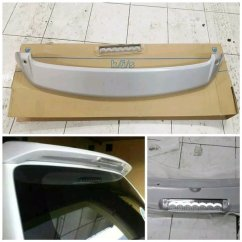Jual Spoiler Grand New Avanza Yaris Trd Sportivo 2014 Harga Topi Belakang Great Xenia Plastik Abs Warna Body Plus Lampu