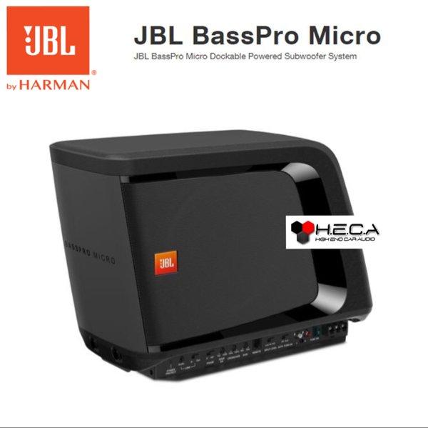 JBL BassPro Micro 8-inch Slim Subwoofer Aktif Active Built In Power