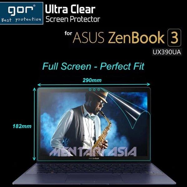 Aksesoris Laptop Screen Protector for ASUS ZenBook 3 UX390UA - GOR Full Screen CLEAR