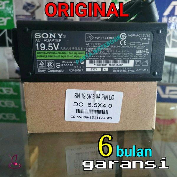 adaptor charger laptop SONY VAIO  19.5V-3.9A VGP - 19V19 19V27 19V37 AC19V47 AC19V20 AC19V37 AC19V33 AC19V38 VPCEA16FG