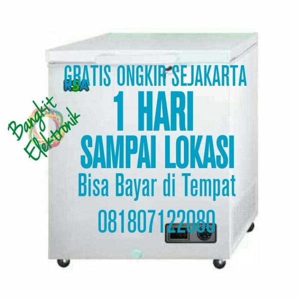Promo Rsa Cf 100 Chest Freezer 100 L -15 -25 Celcius