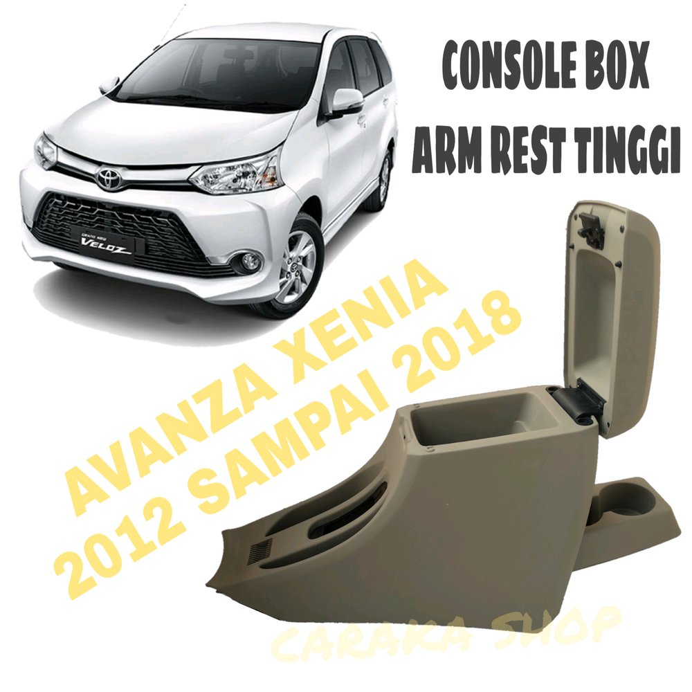 console box grand new avanza toyota agya trd-s jual cream armrest tinggi all xenia 2012 sampai 2018 consol arm rest