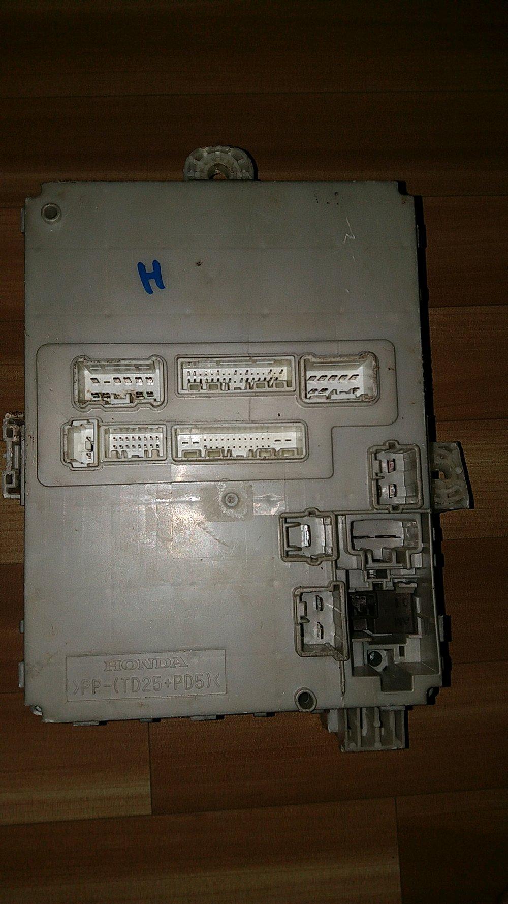 hight resolution of fuse box sekring micu honda freed fuse