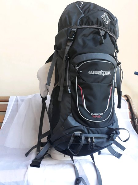 Tas Carrier Gunung Outdoor Backpack 60L Westpak 8295 hitam