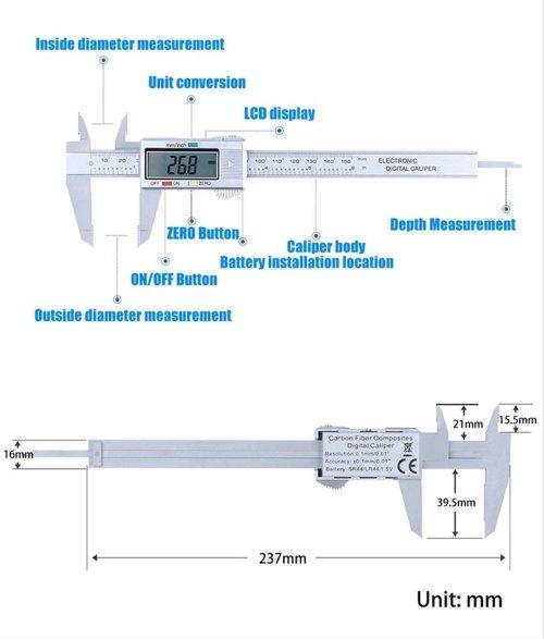 small resolution of jual promo 150mm electeonic digital vernier caliper kaliper jangka sorong di lapak rajacell danirajacell
