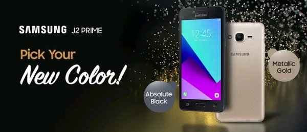 Samsung Galaxy J2 Prime New Absolute Black Garansi Resmi Sein